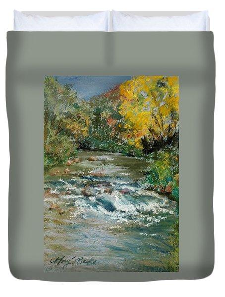 Autumn Rush Duvet Cover
