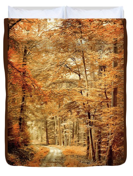 Autumn Secret Duvet Cover