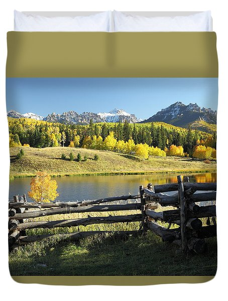 Autumn Serenade Duvet Cover