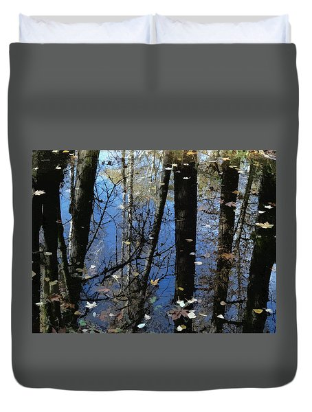 Autumn Signs Duvet Cover
