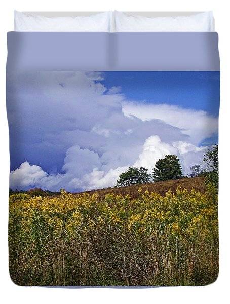 Autumn Skies Duvet Cover
