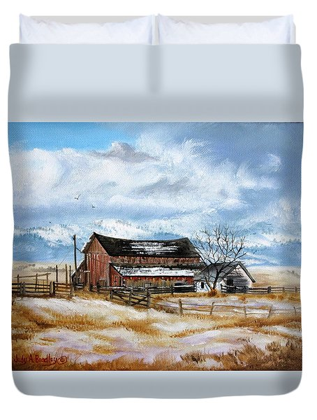 Autumn Slips Away Duvet Cover