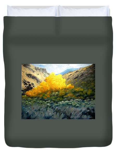 Autumn-southhills Duvet Cover