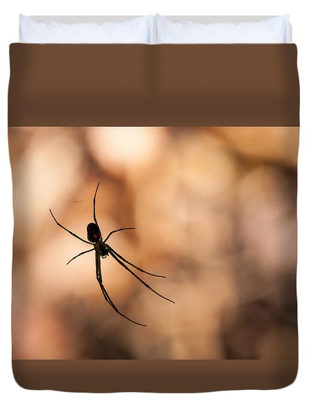 Autumn Spider Duvet Cover