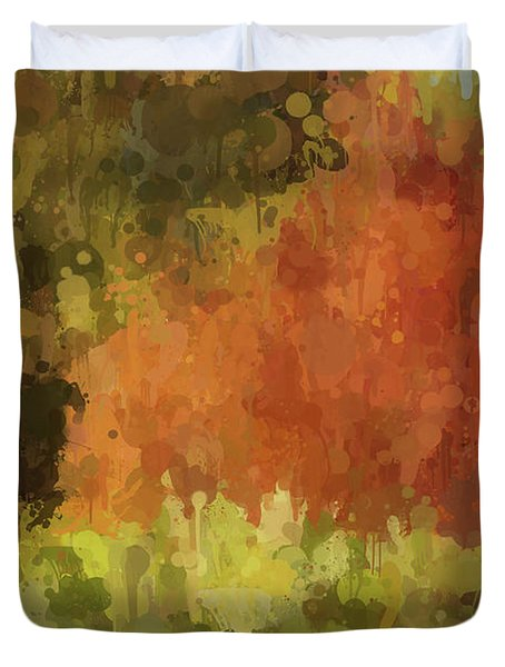 Autumn Splash Duvet Cover