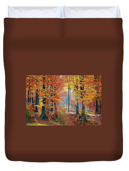 Autumn Splendour Duvet Cover