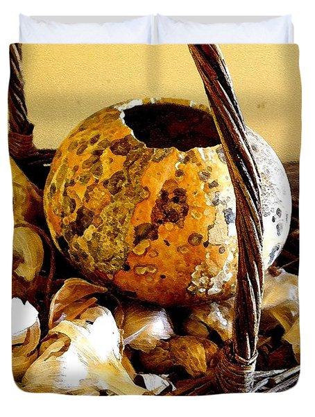 Autumn Still Life Duvet Cover