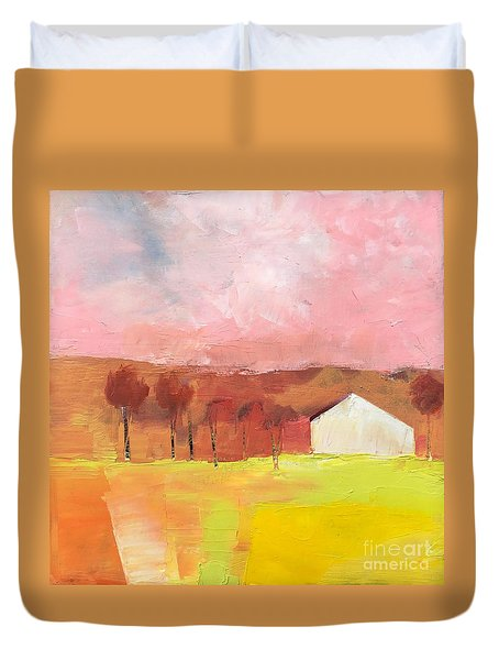 Autumn Stillness Duvet Cover