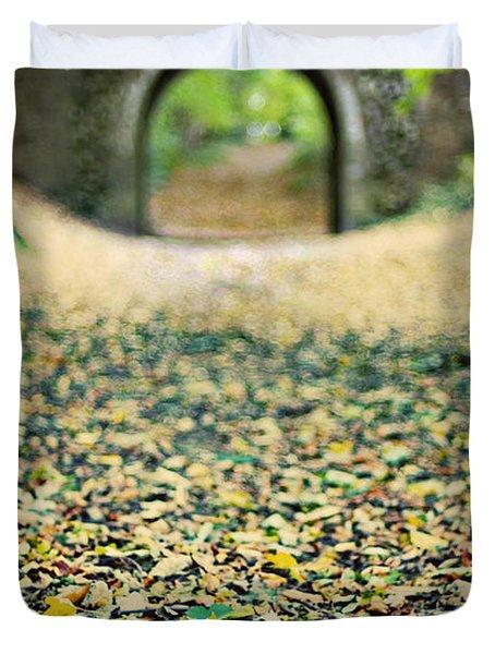 Autumn Stroll Duvet Cover by Meirion Matthias