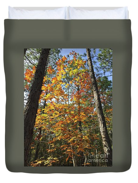 Autumn Sunday Duvet Cover
