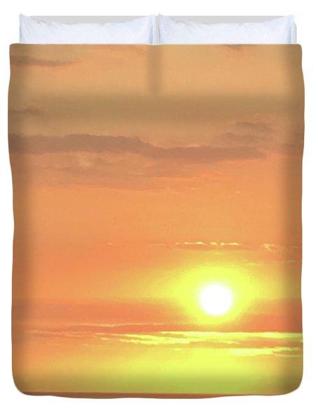 Autumn Sunset Duvet Cover