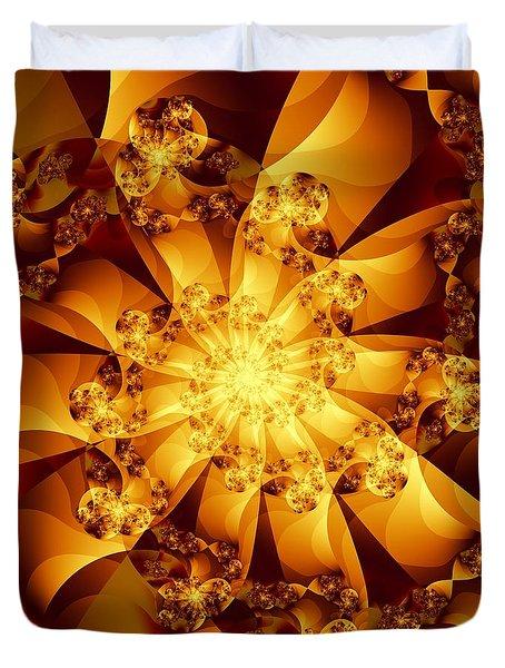 Autumn Sunshine Duvet Cover