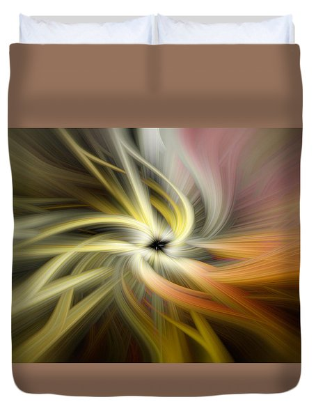 Autumn Swirls Duvet Cover