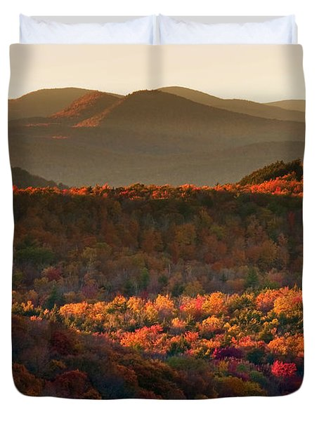 Autumn Tapestry Duvet Cover