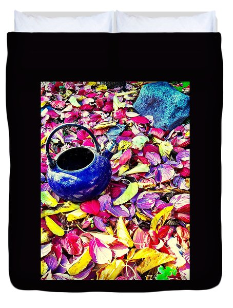 Autumn Tea Duvet Cover