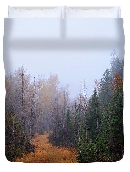 Autumn Trails Duvet Cover