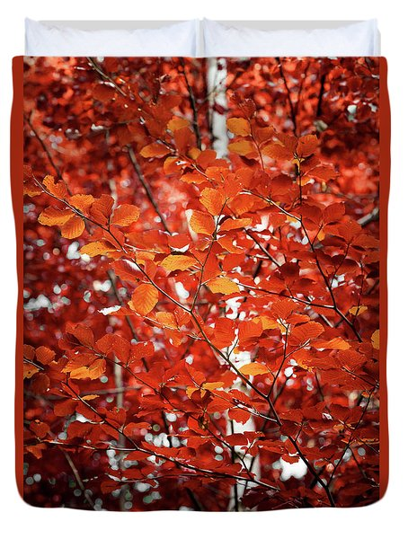 Autumn Triumph Duvet Cover