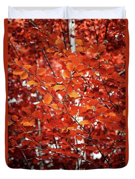 Autumn Triumph Duvet Cover