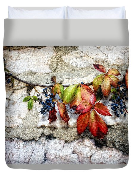 Autumn Vines Duvet Cover