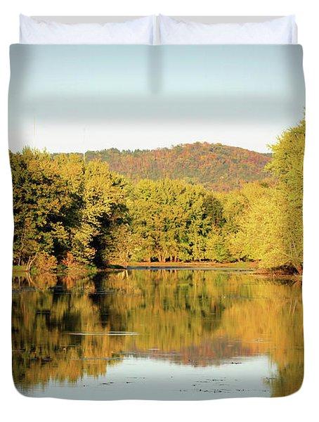 Autumn Water Duvet Cover