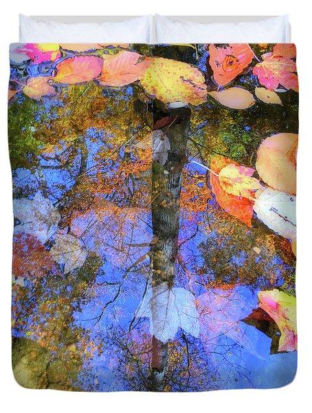 Autumn Watermark Duvet Cover