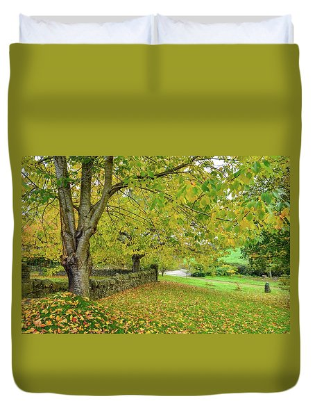 Autumn Wonderland Duvet Cover