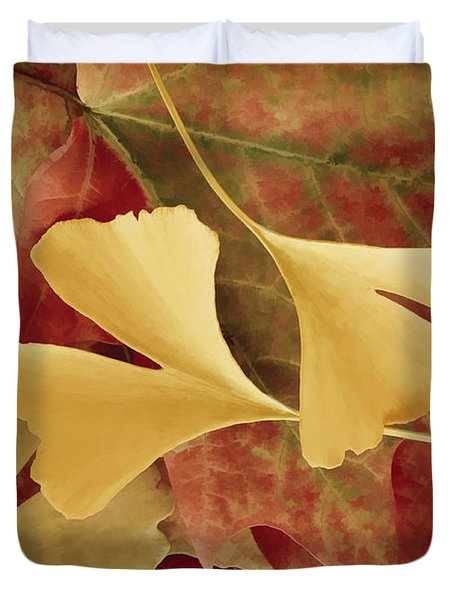 Autumn Yellow Duvet Cover