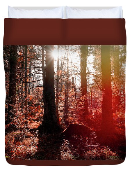 Autumnal Afternoon Duvet Cover