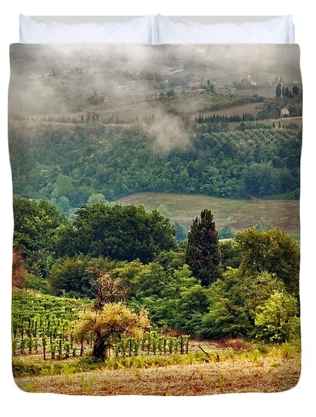 Autumnal Hills Duvet Cover