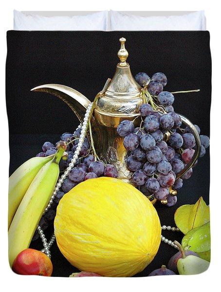 Symphony Of Forbidden Fruits Duvet Cover