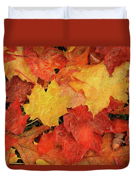 Autumns Gifts Duvet Cover