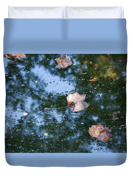 Autumn's Here Duvet Cover