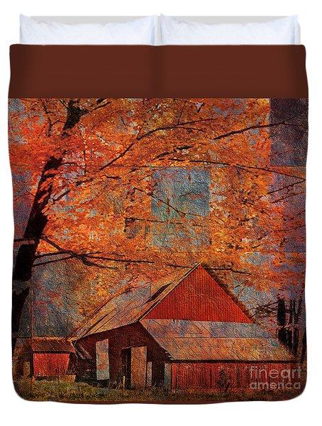Autumn's Slate 2015 Duvet Cover