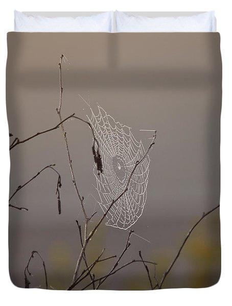 Autumns Web Duvet Cover