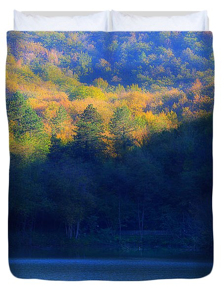 Autunno In Liguria - Autumn In Liguria 2 Duvet Cover