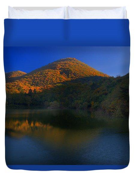 Duvet Cover featuring the photograph Autunno In Liguria - Autumn In Liguria 3 by Enrico Pelos