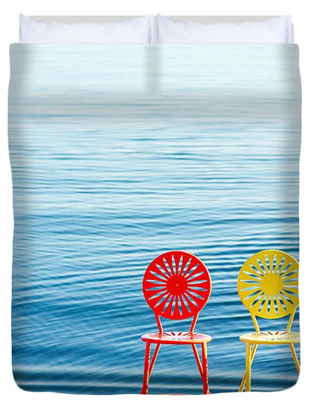 Available Seats Duvet Cover