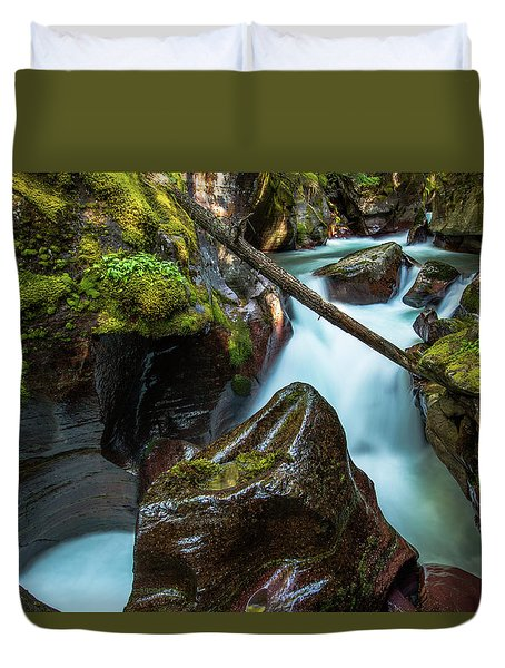 Avalanche Creek Duvet Cover