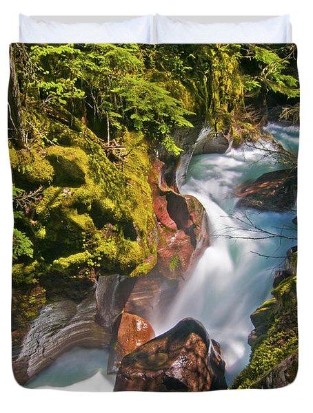 Avalanche Gorge Duvet Cover