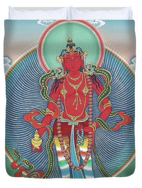 Avalokiteshvara Korwa Tongtrug Duvet Cover