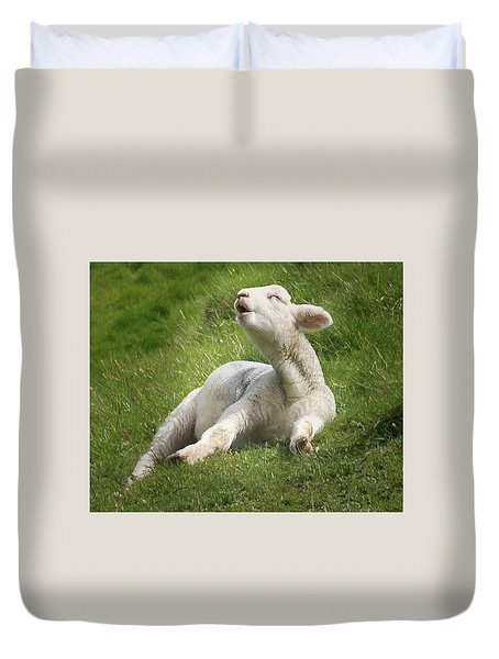 Avebury Lamb Duvet Cover