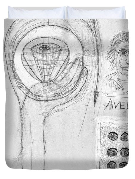Avedon Master Of The Lens Duvet Cover