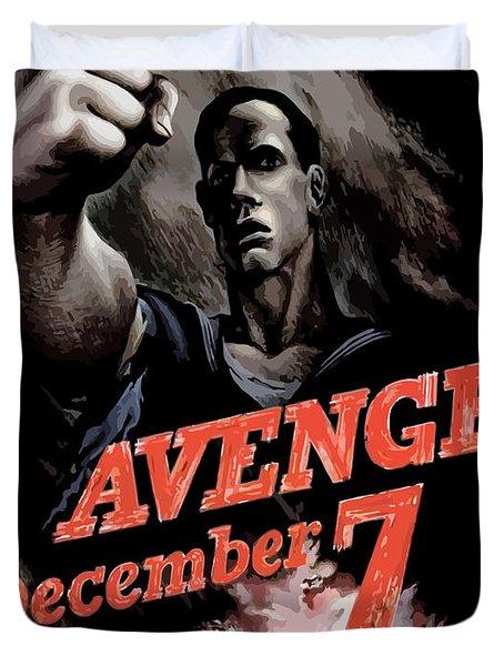 Avenge December 7th Duvet Cover