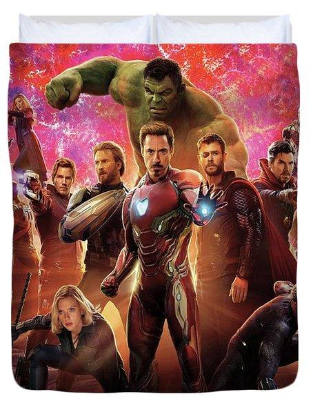 Avengers Infinity War Duvet Cover