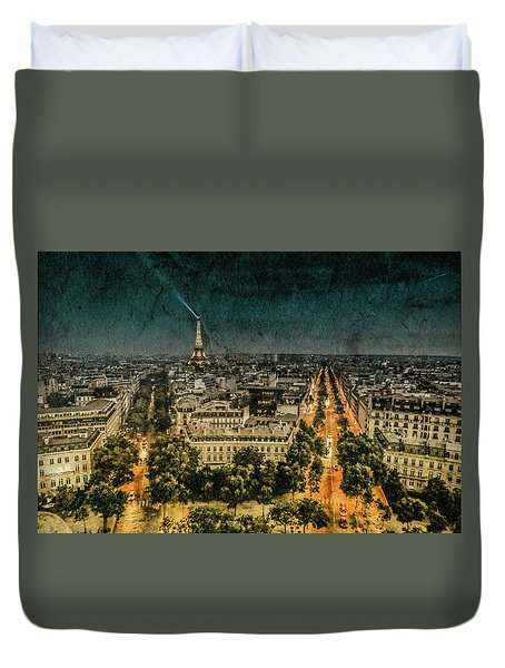 Paris, France - Avenue Kleber Duvet Cover