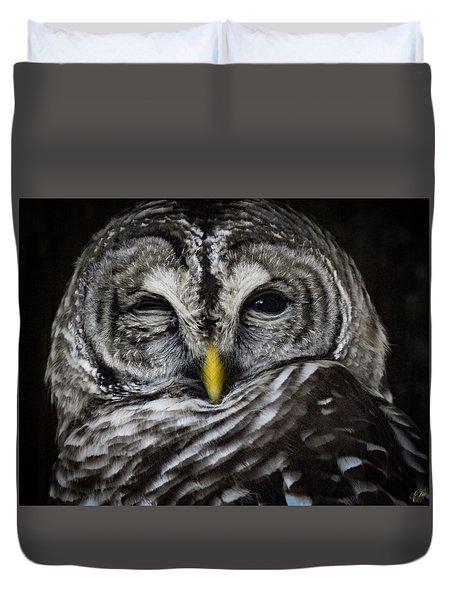 Avery's Owls, No. 11 Duvet Cover