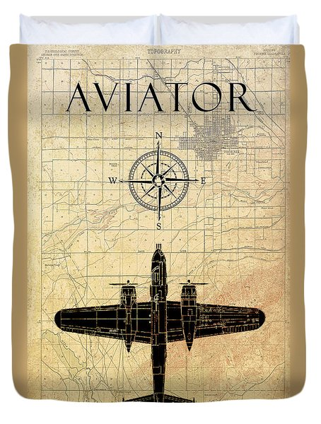 Aviator Duvet Cover