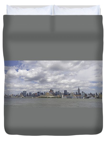 A View From New Jersey 1 Duvet Cover