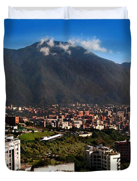 Avila At Sunrise Duvet Cover