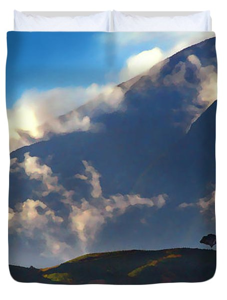 Avila From The East Duvet Cover